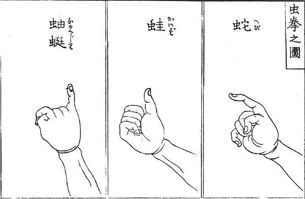 Mushi-ken gestures